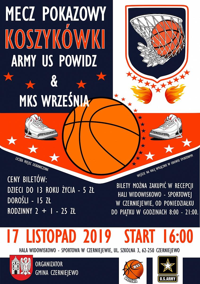 Polsko-amerykański mecz koszykówki w Czerniejewie