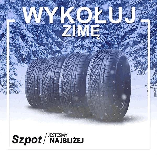 Akcja zima 2019/2020! Serwis Szpot zaprasza na wymianę opon