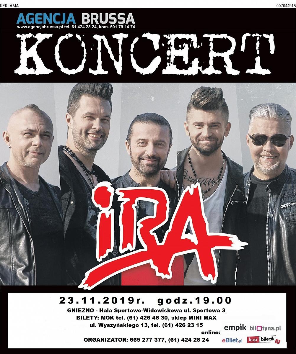 Już w sobotę koncert zespołu IRA
