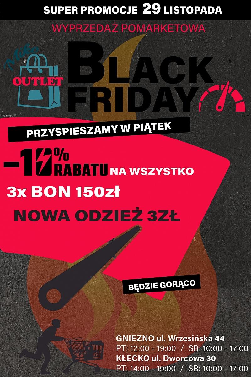 Black Friday w MIKO wyprzedaże pomarketowe!