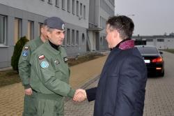 Wizyta Podsekretarza Stanu w MON w garnizonie Powidz