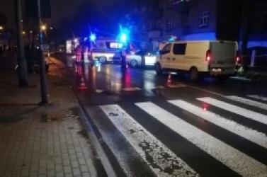 Cztery osoby, w tym dwoje dzieci, potrącone na przejściu dla pieszych!