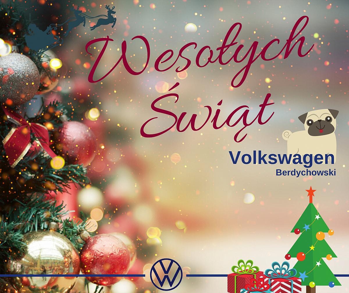 Życzenia świąteczne od Volkswagen Berdychowski