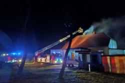Pożar w Szczytnikach Duchownych