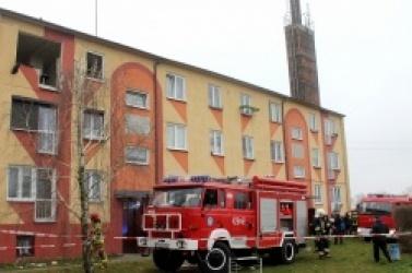 Wybuch gazu w Kruchowie! Mieszkańcy zobaczyli płonącego mężczyznę!