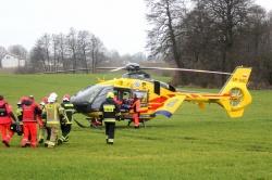 Nie żyje mężczyzna poszkodowany w wybuchu gazu w Kruchowie