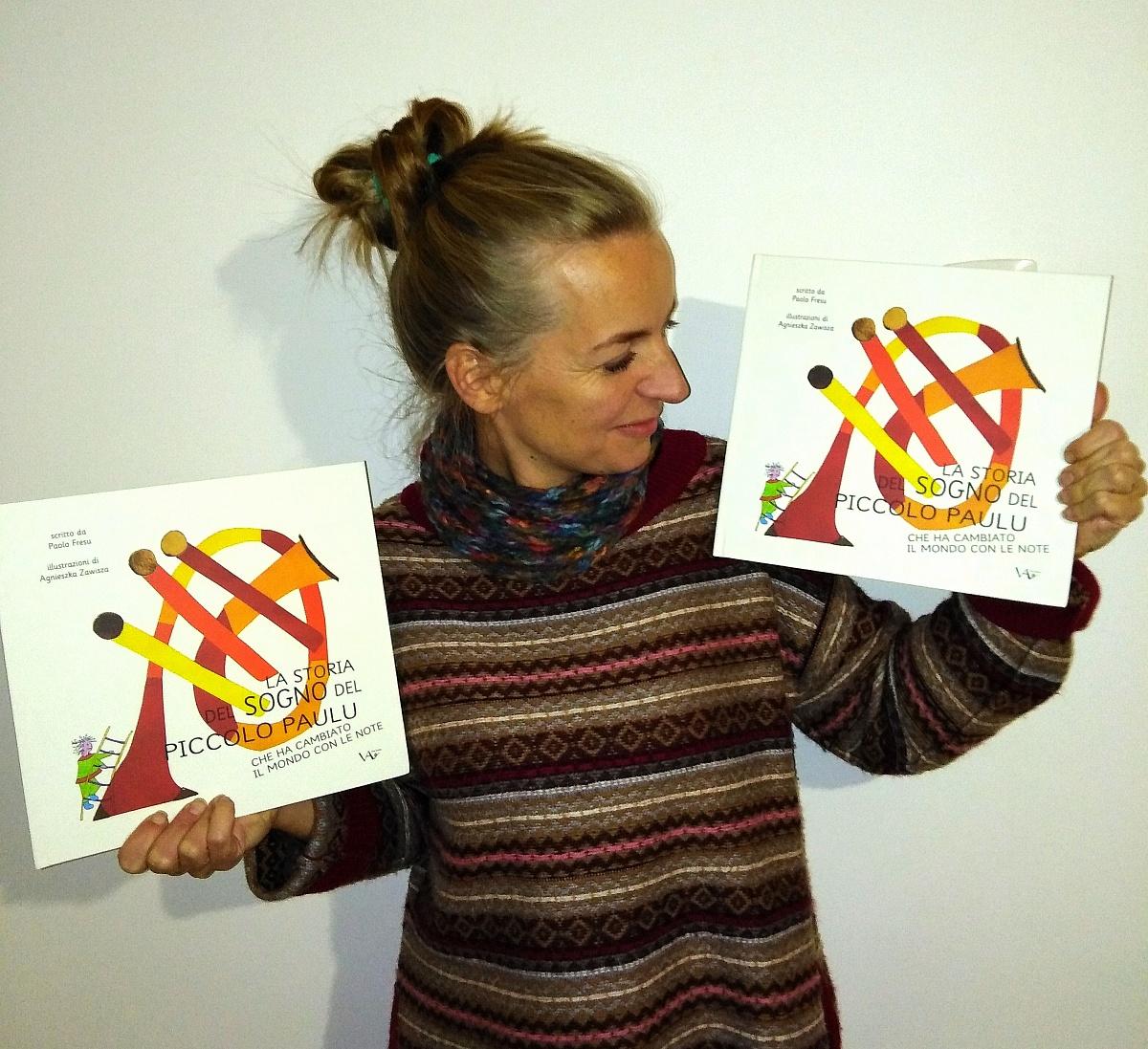Gnieźnianka ilustratorką włoskiej książki
