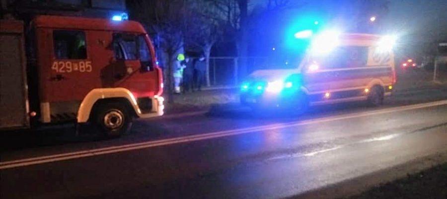 65-latek potrącony na przejściu dla pieszych