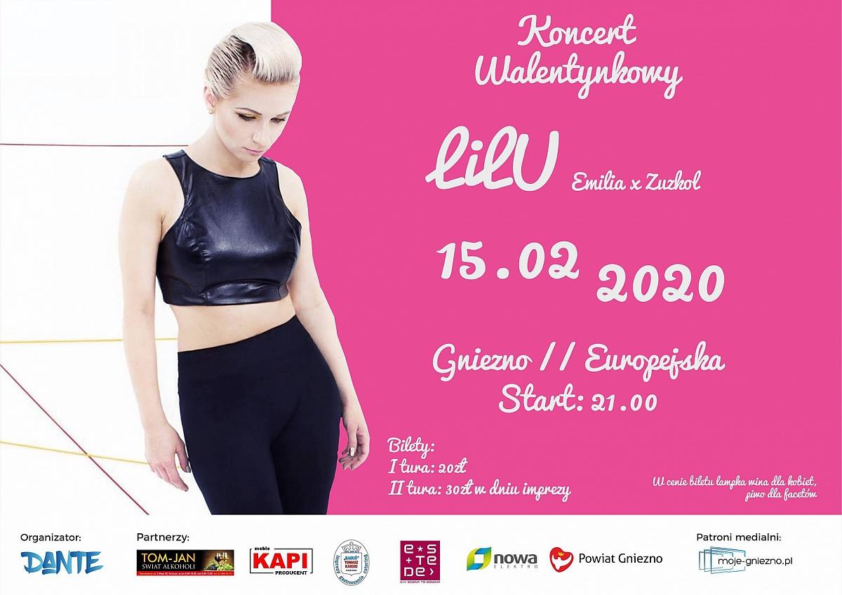 LILU, Emilia i Zuzkol, czyli  Koncert Walentynkowy w Europejskiej