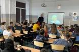 Spotkanie profilaktyczne w Szkole Podstawowej w Fałkowie