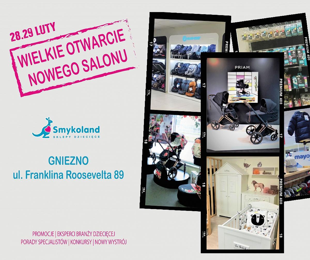 Wielkie otwarcie nowego salonu Smykoland w Gnieźnie!