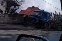 Wypadek na skrzyżowaniu ul. Witkowskiej i Wolności