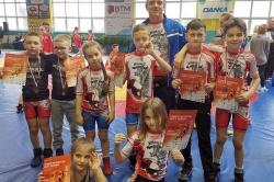 Zapaśnicy Husarza wracają z Poznania z medalami