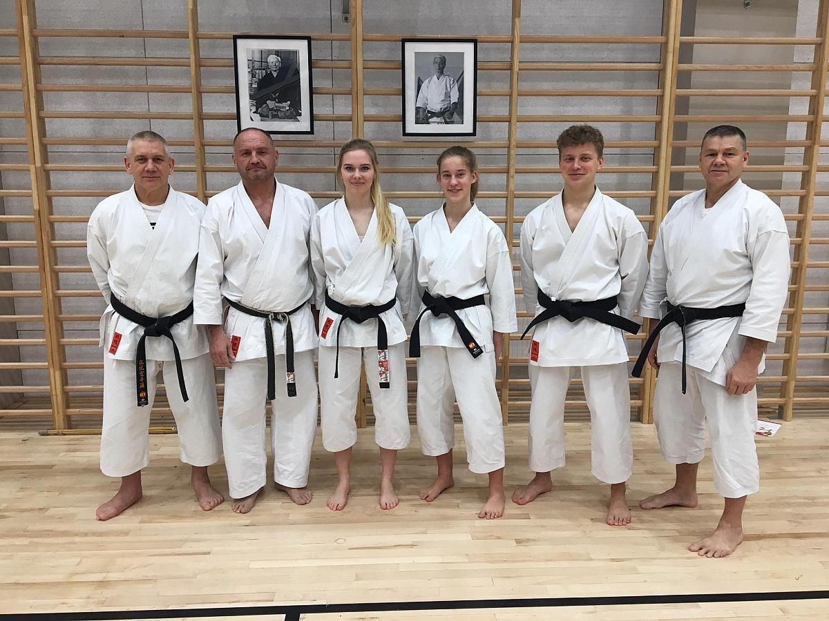 Zgrupowanie kadry karateków w Zakopanem