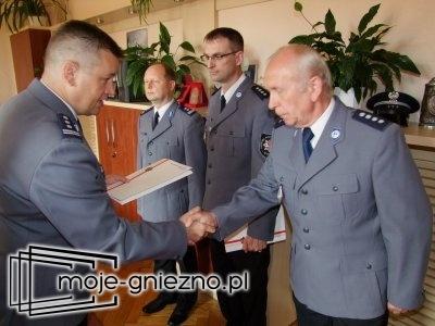 Nowy zastępca szefa gnieźnieńskich policjantów