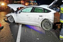 Wypadek na drodze ekspresowej S5!