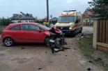 Wypadek w miejscowości Osiniec