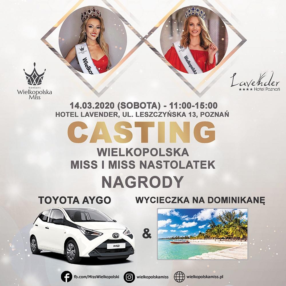 Ostatni casting do konkursu Wielkopolska Miss 2020