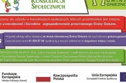 Gmina Gniezno zaprasza do udziału w konsultacjach społecznych