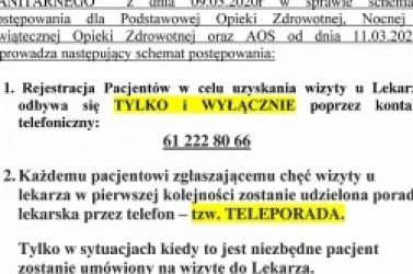Ważny komunikat gnieźnieńskiego szpitala!