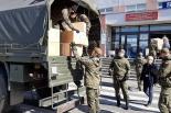 Terytorialsi dostarczają środki medyczne do szpitali