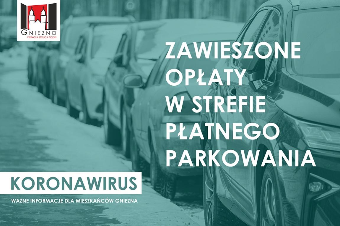 Koronawirus: zawieszenie opłat w Strefie Płatnego Parkowania