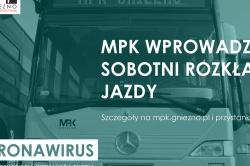 Koronawirus: ograniczenie kursów MPK