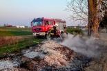 Dwie akcje strażaków z Witkowa