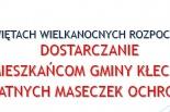Gmina Kłecko dostarczy wszystkim mieszkańcom bezpłatne maseczki ochronne