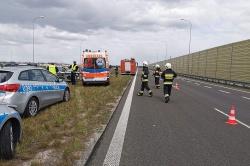 Wypadek w Łabiszynku! Jedna osoba w szpitalu