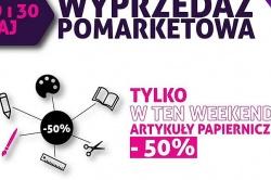 Artykuły papiernicze 50% taniej! Tylko w MIKO wyprzedaże pomarketowe!