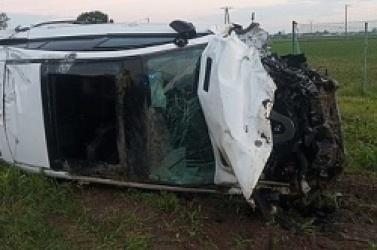 Wypadek na skrzyżowaniu w Szczytnikach Czerniejewskich! Jedna osoba w szpitalu!