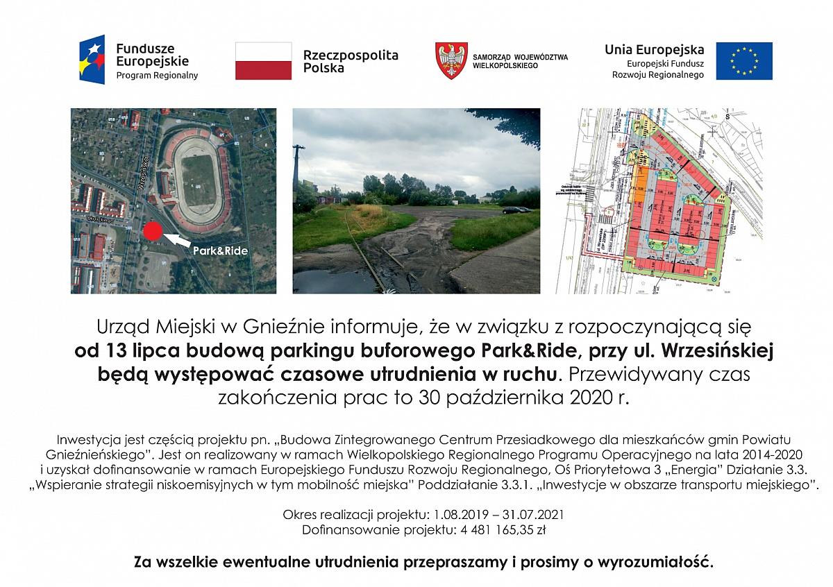 Rusza budowa parkingu buforowego Park&Ride