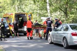Wypadek na drodze ze Skorzęcina!