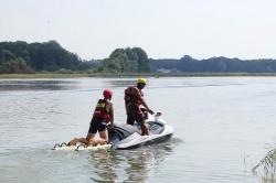 Ćwiczyli na wodzie, aby sprawniej ratować ludzi