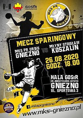 Już w środę piłkarki ręczne z Gniezna zmierzą się z drużyną z Superligi!