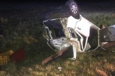 Wypadek w Czeluścinie! Na pomoc ruszył funkcjonariusz Służby Więziennej!