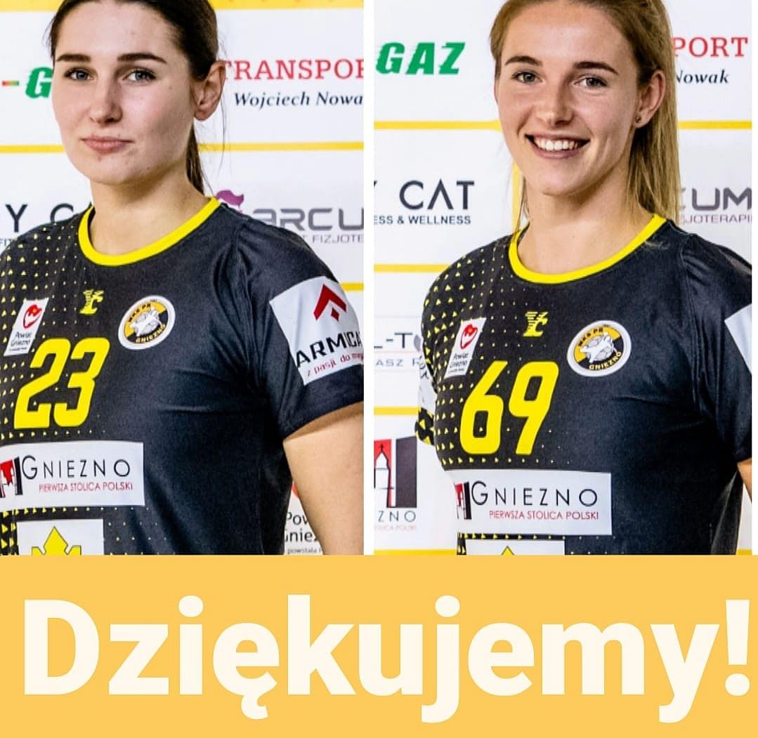 Alicja Ślęzak i Monika Walkowska opuszczają MKS PR URBIS Gniezno