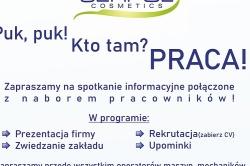 Spotkanie informacyjne i nabór pracowników do Serpol Cosmetics