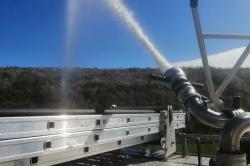 Symulowany pożar w Zakładzie Zagospodarowania Odpadów w Lulkowie