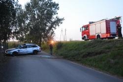 Zderzenie 4 samochodów na ul. Powstańców Wielkopolskich! Policja szuka kierowcy, który uciekł z miejsca zdarzenia!
