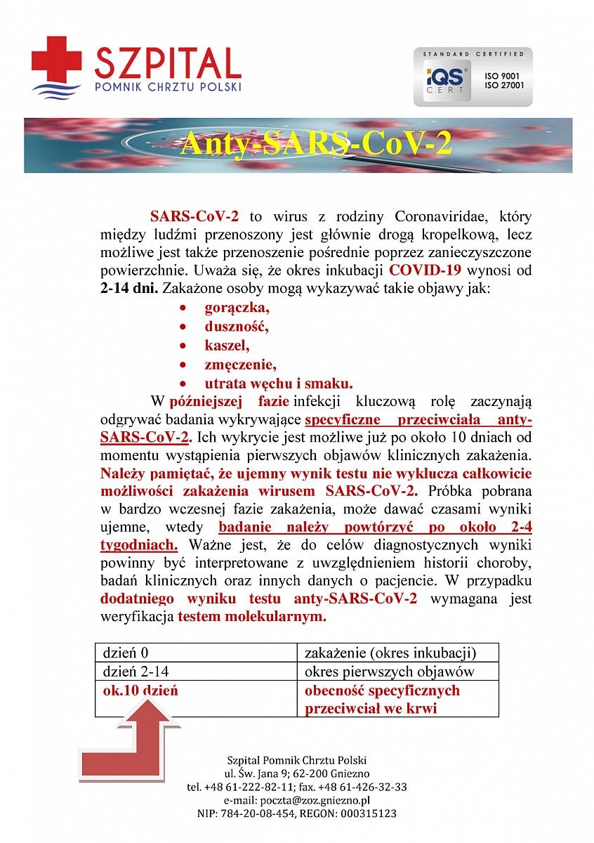 Informacja gnieźnieńskiego laboratorium o koronawirusie - co należy wiedzieć?