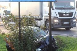 Zderzenie na skrzyżowaniu w Trzemesznie