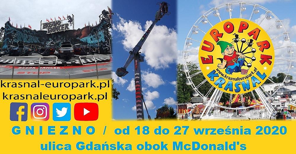 Zabawa bez limitu w Gnieźnie z Europarkiem Krasnal!