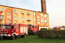 Pożar mieszkania w Kruchowie