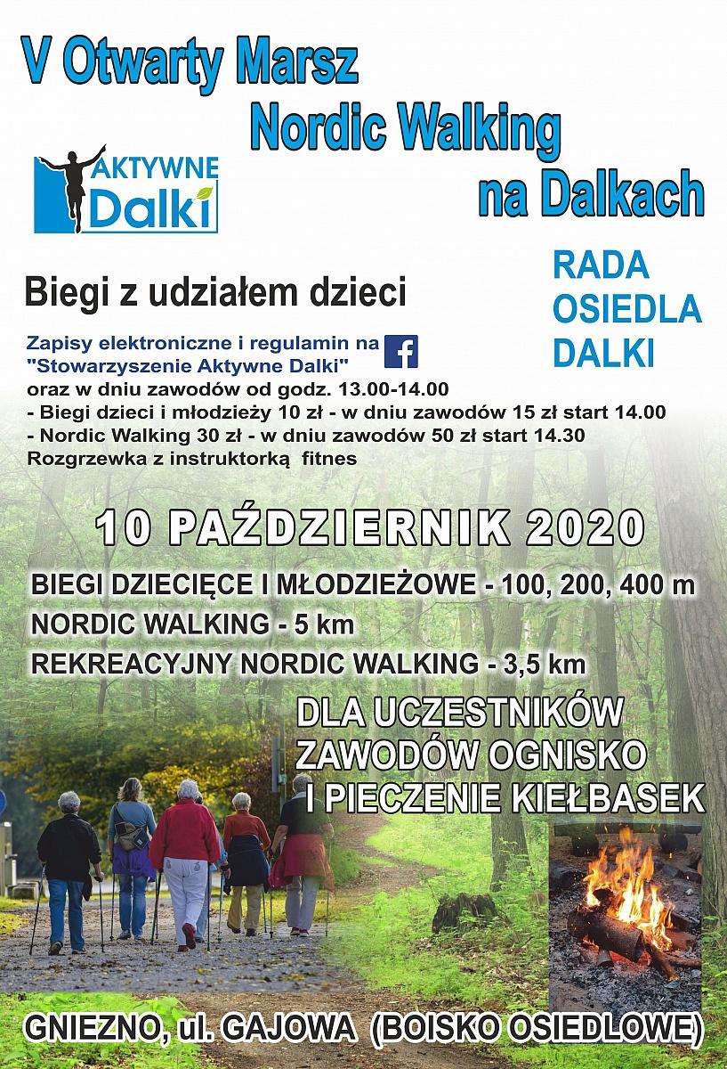 V Marsz Nordic Walking na Dalkach