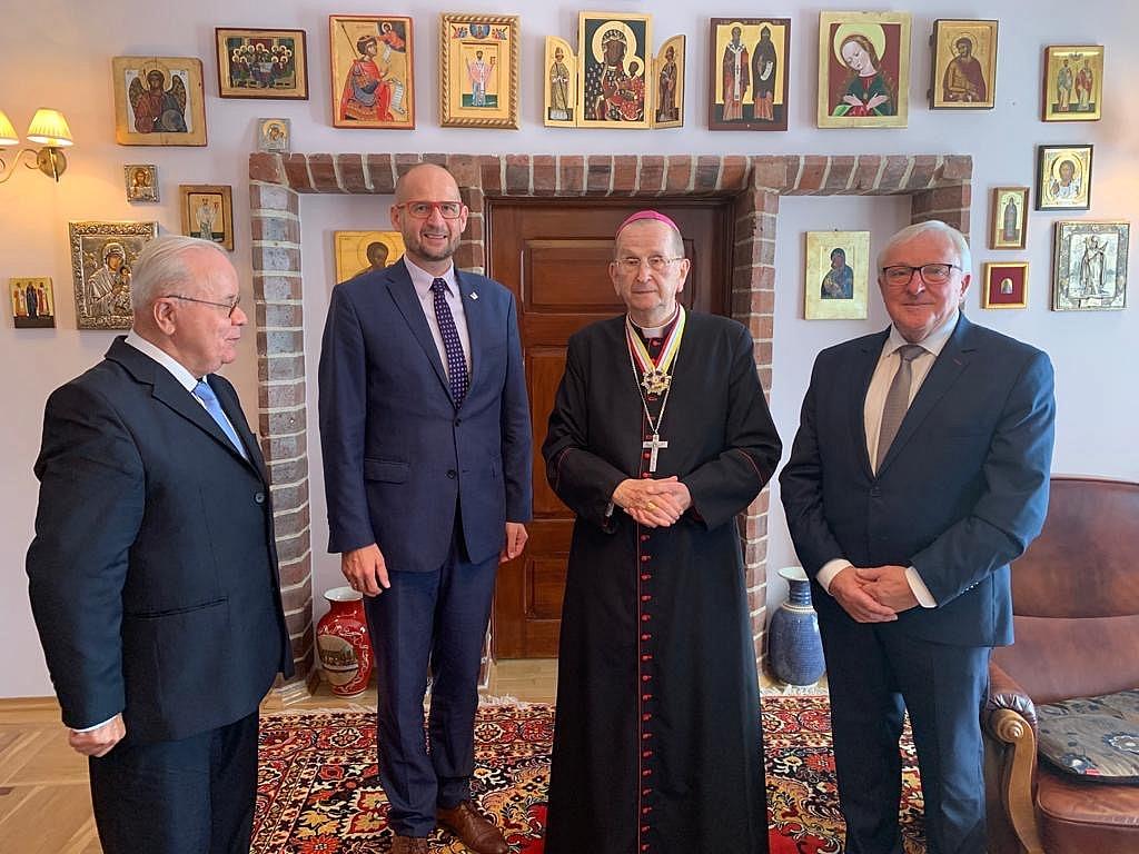 Arcybiskup Józef Henryk Muszyński uhonorowany