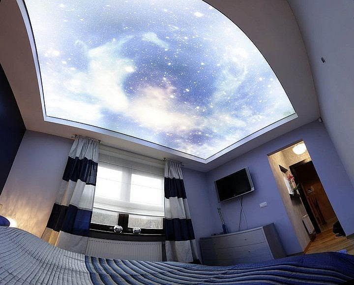 Sufit napinany gwiaździste niebo: na czym polega jego popularność?
