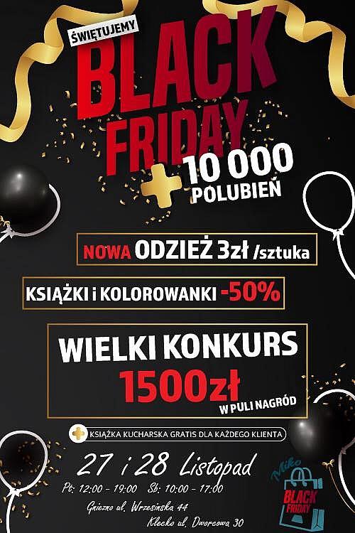 Black Friday w MIKO! Mega promocje i konkursy z pulą nagród o wartości ponad 1,5 tys. zł!