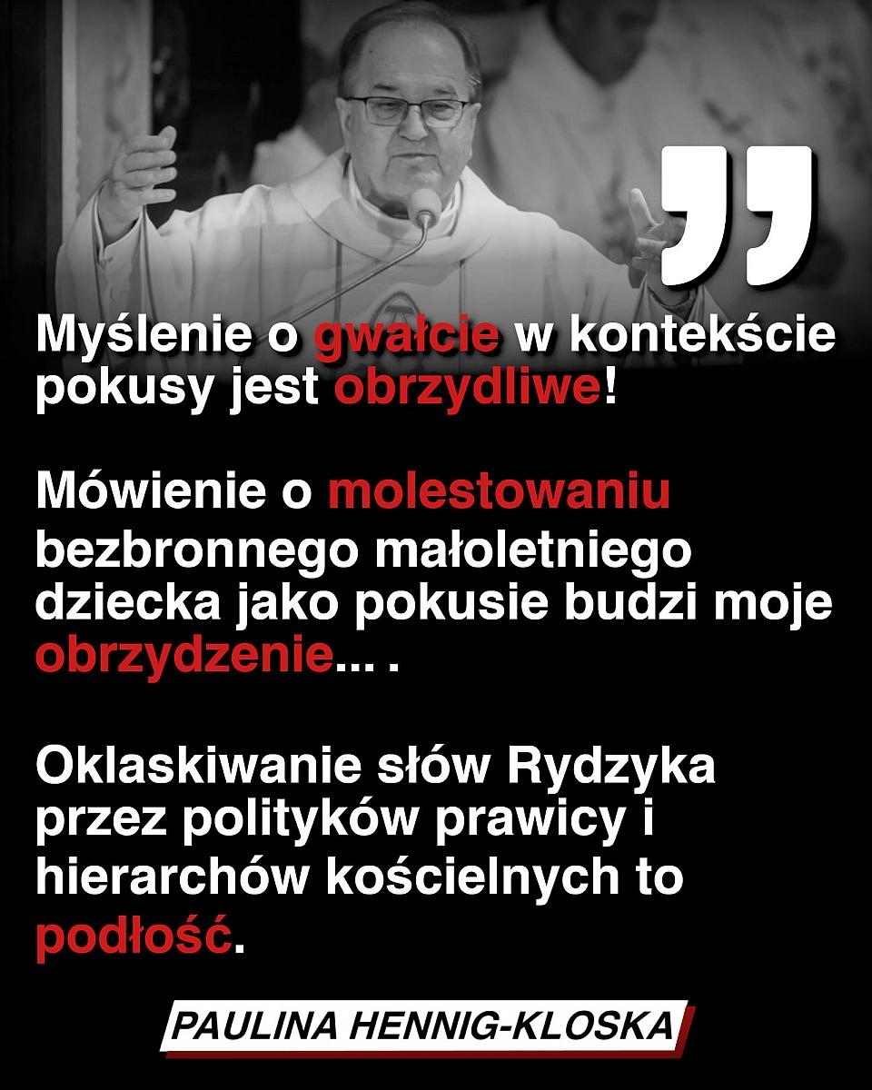 Paulina Hennig-Kloska skomentowała pedofilię w polskim kościele! Padły ostre słowa